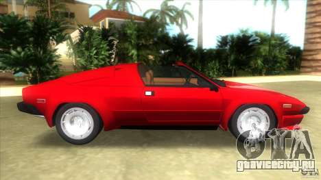 Lamborghini Jalpa P350 1984 для GTA Vice City вид слева