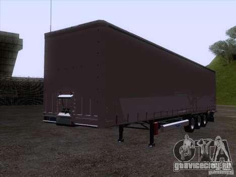 Прицеп artict1 для GTA San Andreas вид сзади слева