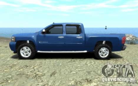 Chevrolet Silverado 2008 для GTA 4 вид слева