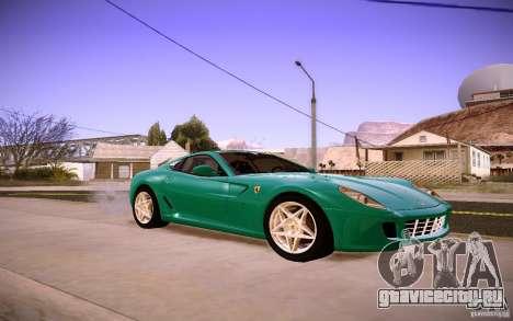 Ferrari 599 GTB Fiorano 2010 для GTA San Andreas вид слева