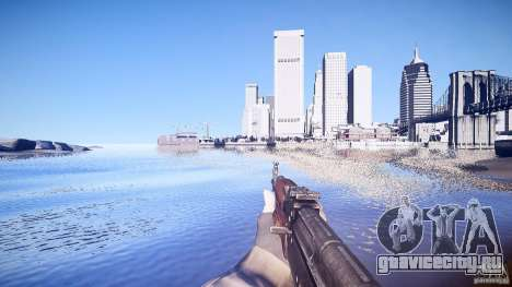 Новый АК-47 для GTA 4 третий скриншот