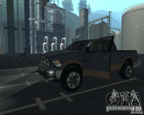 Dodge Ram Hemi для GTA San Andreas вид слева