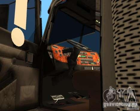 Western Star 4900EX v 0.1 для GTA San Andreas вид справа