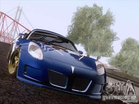 Pontiac Solstice Redbull для GTA San Andreas вид слева