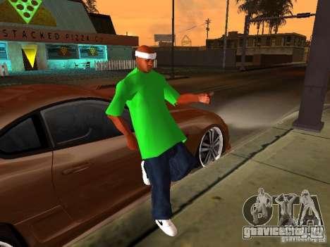 Новая семья для GTA San Andreas второй скриншот