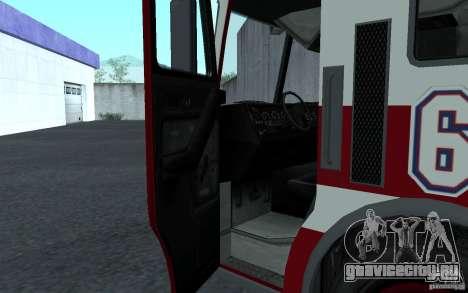 FIRETRUCK для GTA San Andreas