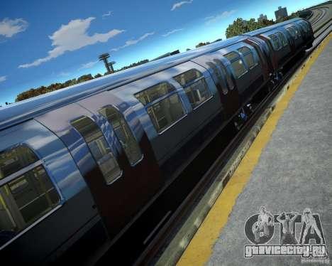 Лондонский Поезд для GTA 4 четвёртый скриншот