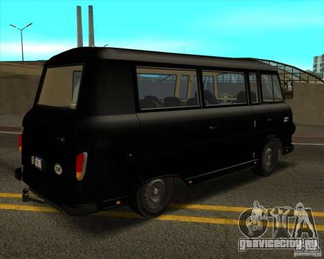 1961-1991 Barkas B1000 для GTA San Andreas вид изнутри