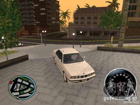 BMW E34 540i для GTA San Andreas вид справа