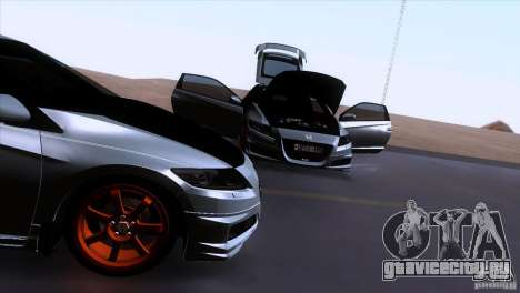 Honda CR-Z Mugen 2011 V1.0 для GTA San Andreas вид сверху