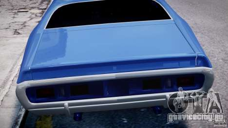 Dodge Charger RT 1971 v1.0 для GTA 4 двигатель