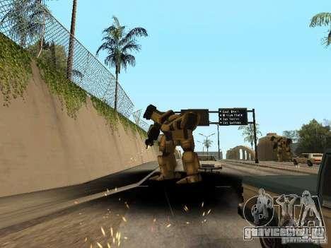 Трансформеры для GTA San Andreas третий скриншот