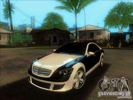 Mercedes-Benz S600 AMG WCC Edition для GTA San Andreas