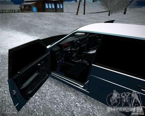 ВАЗ 2109 Тюнинг для GTA San Andreas вид сзади