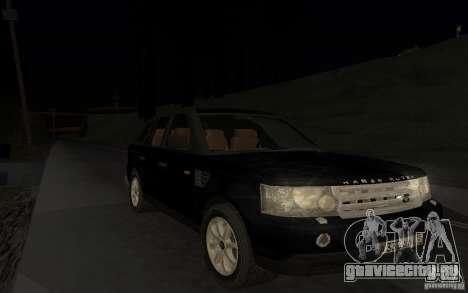 Land Rover Range Rover для GTA San Andreas вид сбоку