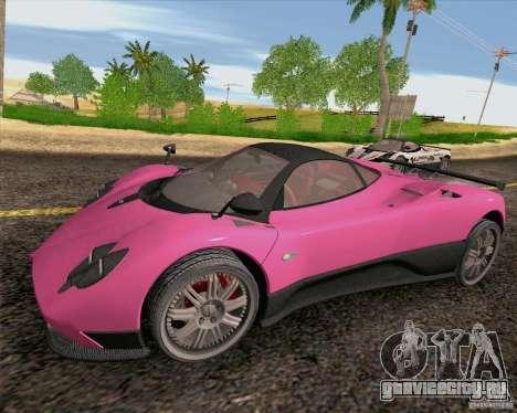 Pagani Zonda F v2 для GTA San Andreas вид слева