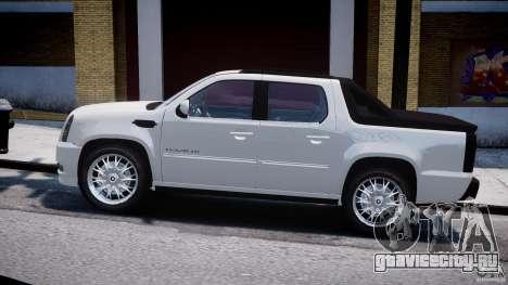 Cadillac Escalade Ext для GTA 4 вид сзади