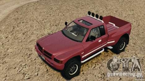 Dodge Ram 2500 Army 1994 v1.1 для GTA 4 вид сбоку