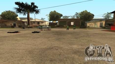 На Grove Street напал Ballas для GTA San Andreas пятый скриншот