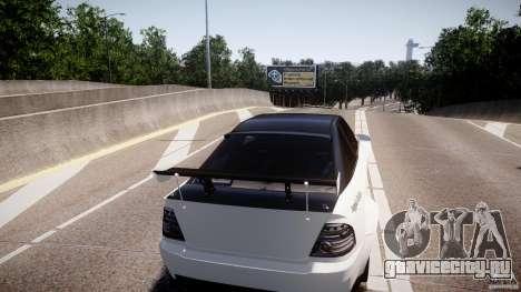 Sultan RS 3.0 для GTA 4 вид сзади