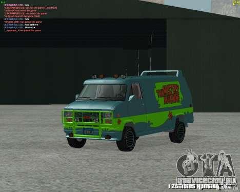 GMC Van 1983 для GTA San Andreas вид слева