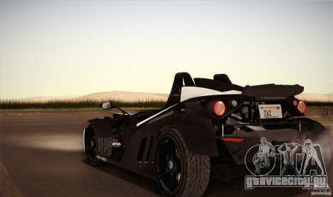 KTM-X-Bow для GTA San Andreas вид сверху