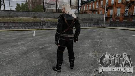 Геральт из Ривии v7 для GTA 4 третий скриншот