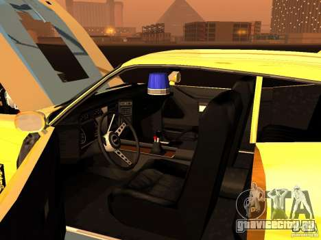 Ford Falcon XB Coupe Interceptor для GTA San Andreas вид изнутри