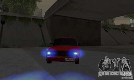 ВАЗ 2101 Рестайлинг для GTA San Andreas вид сзади слева