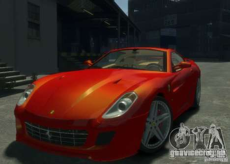 Ferrari 599 GTB Novitec Rosso для GTA 4