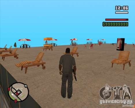 CJ - Мэр для GTA San Andreas третий скриншот