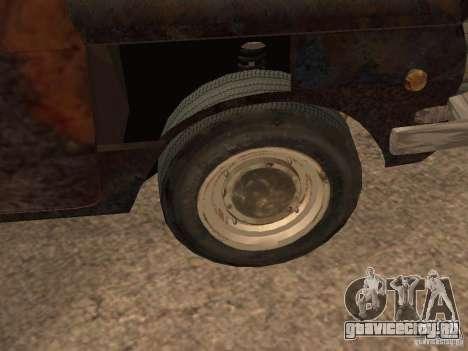 ЗАЗ-968 Заброшенный для GTA San Andreas вид сзади