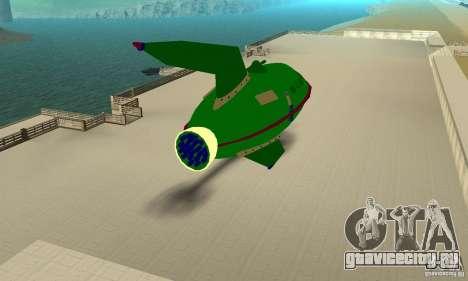 Planet Express для GTA San Andreas вид справа