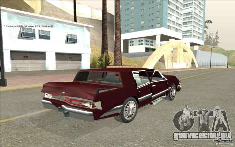 Chrysler Dynasty для GTA San Andreas вид сбоку