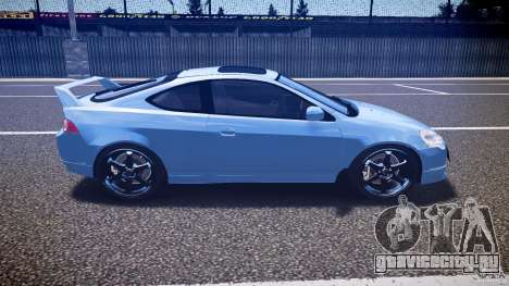 Acura RSX TypeS v1.0 Volk TE37 для GTA 4 вид изнутри