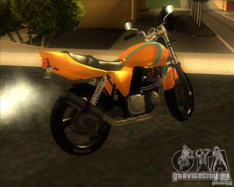 Yamaha XJR400 для GTA San Andreas вид слева