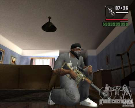 ВСК74 для GTA San Andreas второй скриншот