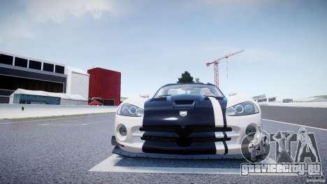 Dodge Viper SRT-10 ACR 2009 v2.0 [EPM] для GTA 4 вид снизу
