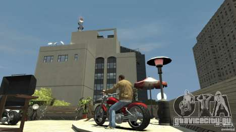 The Lost and Damned Bikes Lycan для GTA 4 вид сзади слева