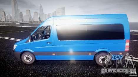 Mercedes-Benz ASM Sprinter Ambulance для GTA 4 вид слева