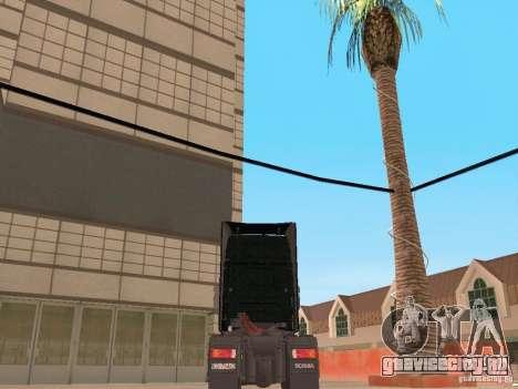 Scania 124L 420 для GTA San Andreas вид сзади слева