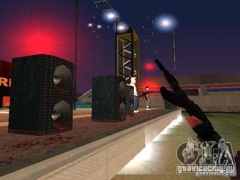 Концерт АК-47 для GTA San Andreas пятый скриншот