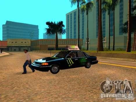 Ford Crown Victoria Taxi для GTA San Andreas вид справа