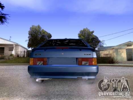 ВАЗ 2113 Cток для GTA San Andreas вид сзади слева