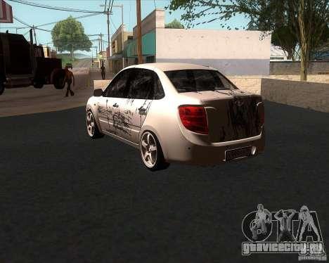 Лада Гранта для GTA San Andreas вид сбоку