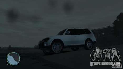 Mitsubishi Pajero Wagon для GTA 4 салон