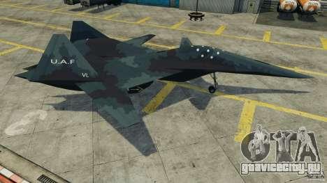 ADF-01 Falken для GTA 4 вид слева