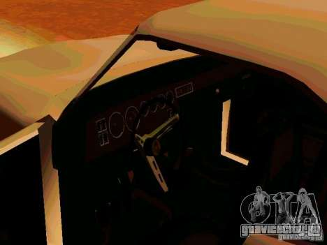 Plymouth Road Runner 426 HEMI 1970 для GTA San Andreas вид сзади