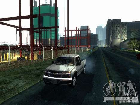 Chevrolet Colorado 2003 для GTA San Andreas вид слева