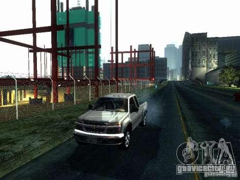 Chevrolet Colorado 2003 для GTA San Andreas вид слева